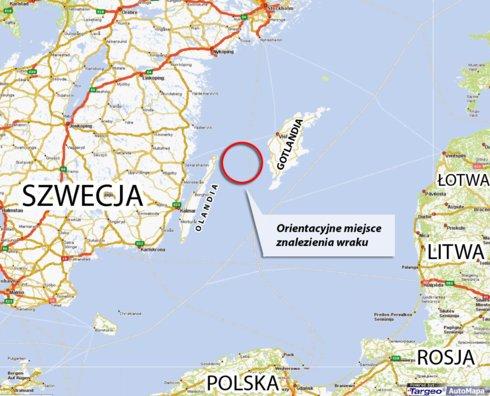 Na dnie bałtyku odnaleziono wrak średniowiecznego okrętu