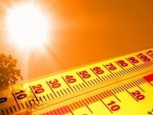 Rekordowo wysoka temperatura
