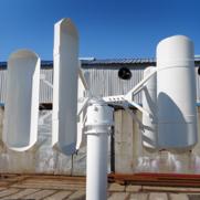 Mała elektrownia wiatrowa - pionowa