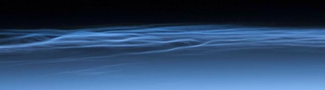Obłoki srebrzyste w mezosferze