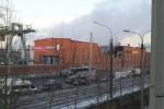 Zniszczona fabryka - Rosja, meteor