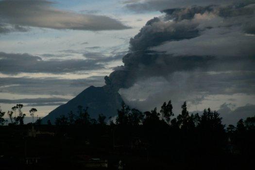 Ekwador - Wulkan Tungurahua 3
