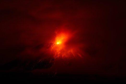 Ekwador - Wulkan Tungurahua 4