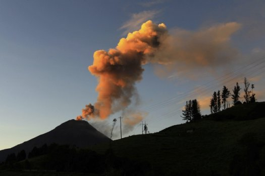 Ekwador - Wulkan Tungurahua