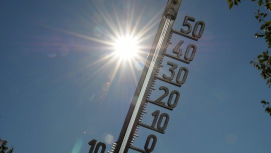 Austria - Rekord temperatury w Neusiedl am See