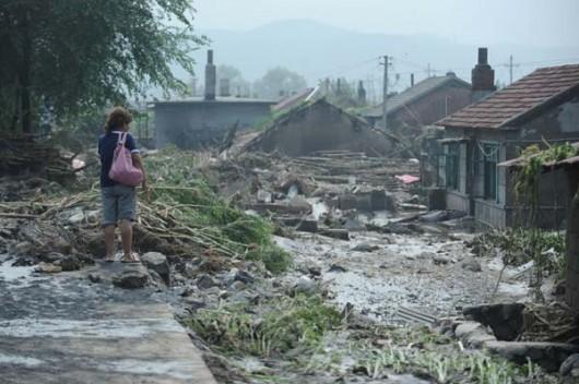 Chiny - Powódź w prowincji Liaoning 2