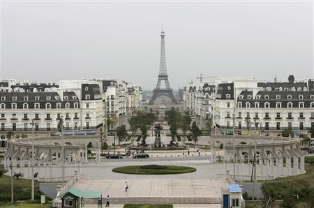 Chiny - Replika Paryża 1