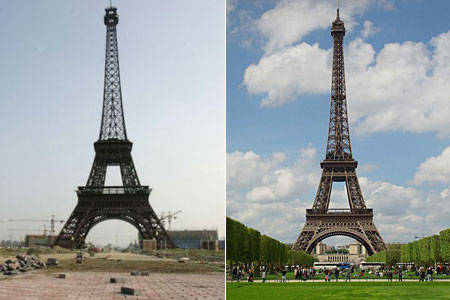 Chiny - Replika Paryża 2