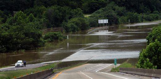 USA - Powódź w Tennessee 2