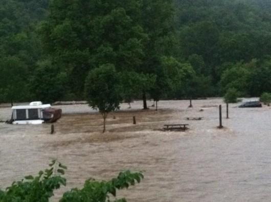 USA - Powódź w Tennessee 3