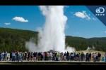 USA - Wystrzelił gejzer w Yellowstone 2