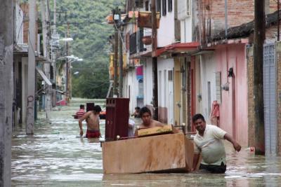 Meksyk - Ogromna powódź 4
