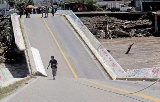 Meksyk - Ogromna powódź 5