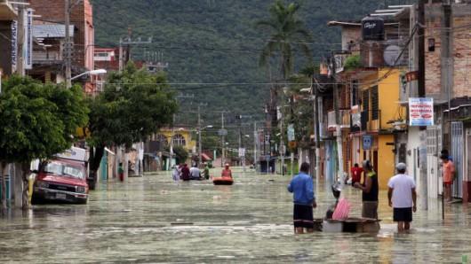 Meksyk - Ogromna powódź