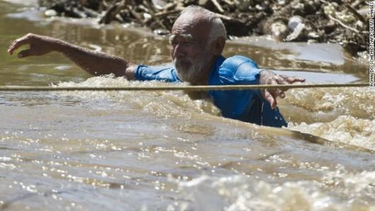 Meksyk - Ogromna powódź 8