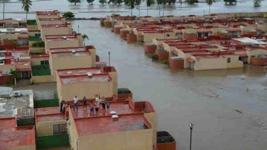 Meksyk - Ogromna powódź 9