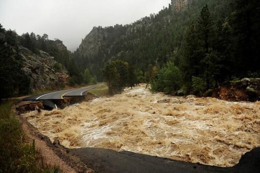 USA - Największa od prawie 100 lat powódź w Kolorado (Boulder) 2