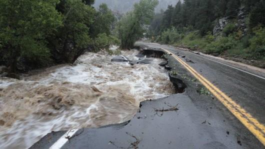 USA - Największa od prawie 100 lat powódź w Kolorado (Boulder) 3