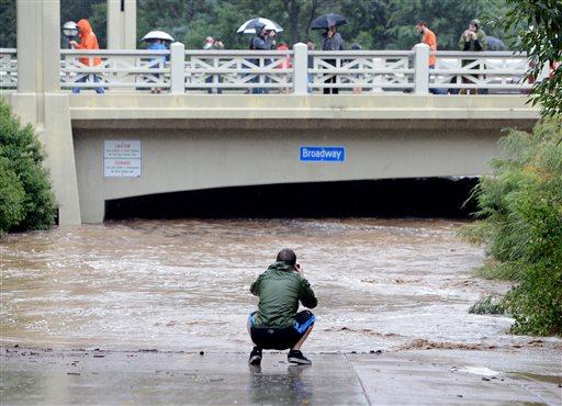 USA - Największa od prawie 100 lat powódź w Kolorado (Boulder) 4