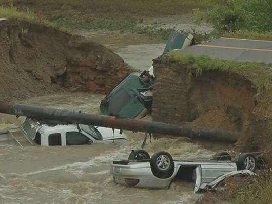 USA - Największa od prawie 100 lat powódź w Kolorado (Boulder) 5
