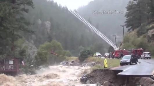 USA - Powódź w Kolorado 12