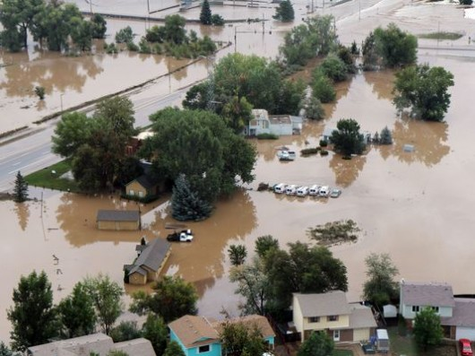USA - Powódź w Kolorado