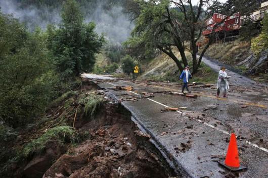 USA - Powódź w Kolorado 7