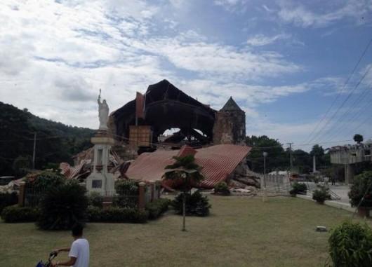 Filipiny - Po trzęsieniu ziemi 3