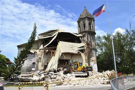 Filipiny - Po trzęsieniu ziemi 4