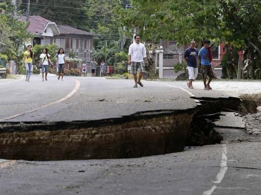 Filipiny - Po trzęsieniu ziemi 7