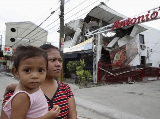 Filipiny - Po trzęsieniu ziemi 9