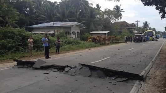 Filipiny - Trzęsienie ziemi 2