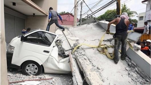 Filipiny - Trzęsienie ziemi 3