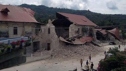 Filipiny - Trzęsienie ziemi 4
