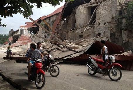 Filipiny - Trzęsienie ziemi 5