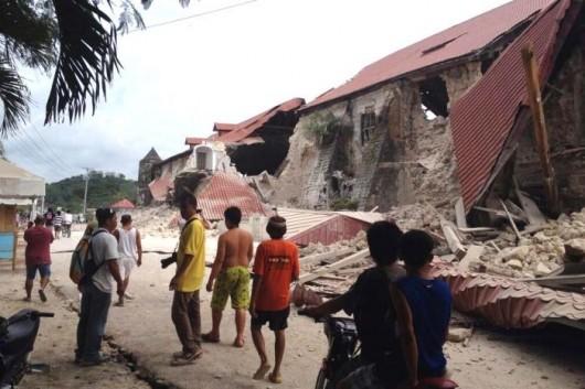 Filipiny - Trzęsienie ziemi