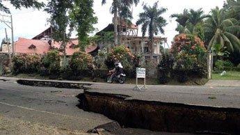 Filipiny - Trzęsienie ziemi 6