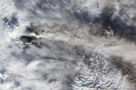 Rosja - Wulkan Kluczewska Sopka 1