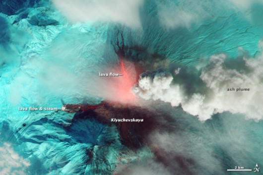 Rosja - Wulkan Kluczewska Sopka 2