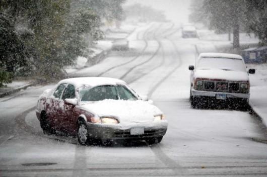 USA - Śnieg w Wyoming 2