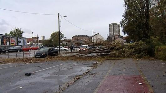 Chorwacja - Załamanie pogody i silny wiatr 2