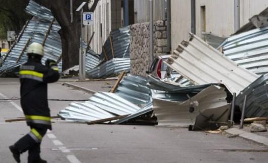 Chorwacja - Załamanie pogody i silny wiatr 7