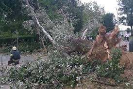 Chorwacja - Załamanie pogody i silny wiatr