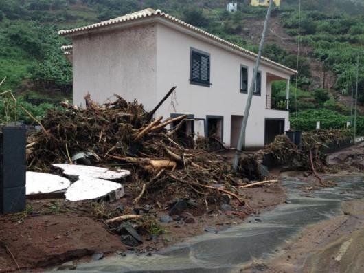 Portugalia - Załamanie pogody na Maderze 3