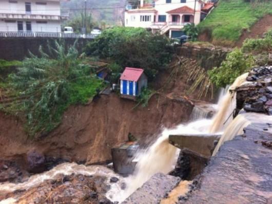 Portugalia - Załamanie pogody na Maderze 7