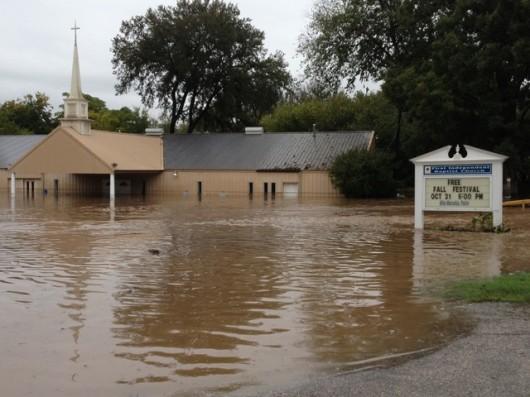 USA - Powódź w Teksasie 1