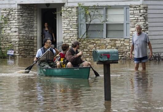 USA - Powódź w Teksasie 2