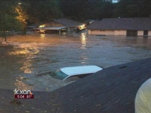 USA - Powódź w Teksasie 4