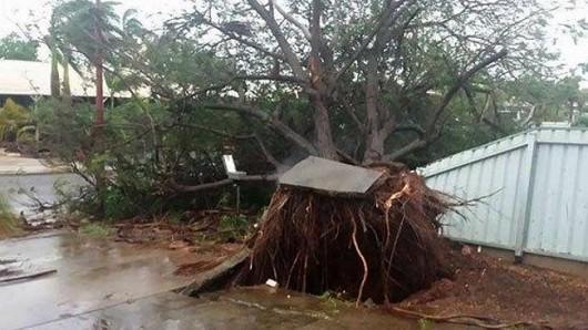 Australia - Silny cyklon 3