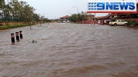 Australia - Silny cyklon 4